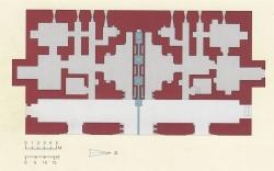 Palacio de Ziza. Figura 29: un trazado rigurosamente geométrico