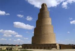 Samarra. Figura 17: un «zigurat» islámico
