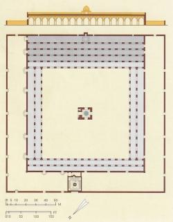Mezquita de Ibn Tulun. Figura 13: una estructura rigurosa
