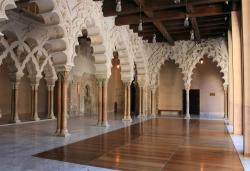 La Aljafería. >Figura 18: una suntuosas sala de recpeción