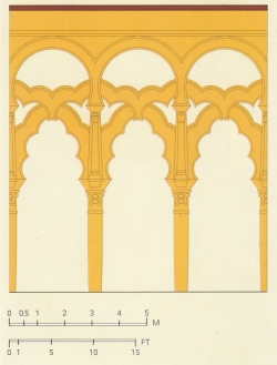 Mezquita de Córdoba. Figura 9: unas estructuras refinadas
