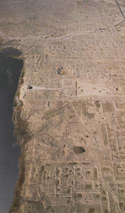 Samarra. Figura 11: vestigios de una inmensa ciudad muerta
