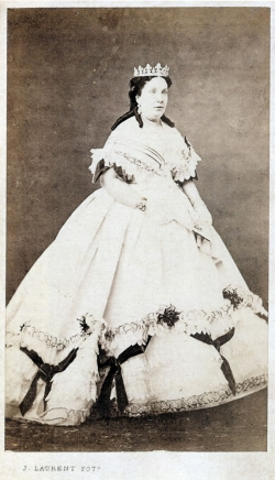 Jean Laurent: Isabel II, ca. 1860