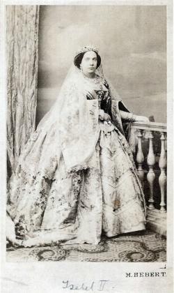 Pedro Martínez de Hebert: Isabel II, ca. 1862