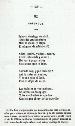 Emilio Lafuente y Alcántara: Cancionero popular