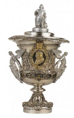 Marquina-Espuñes: Copa conmemorativa, 1860