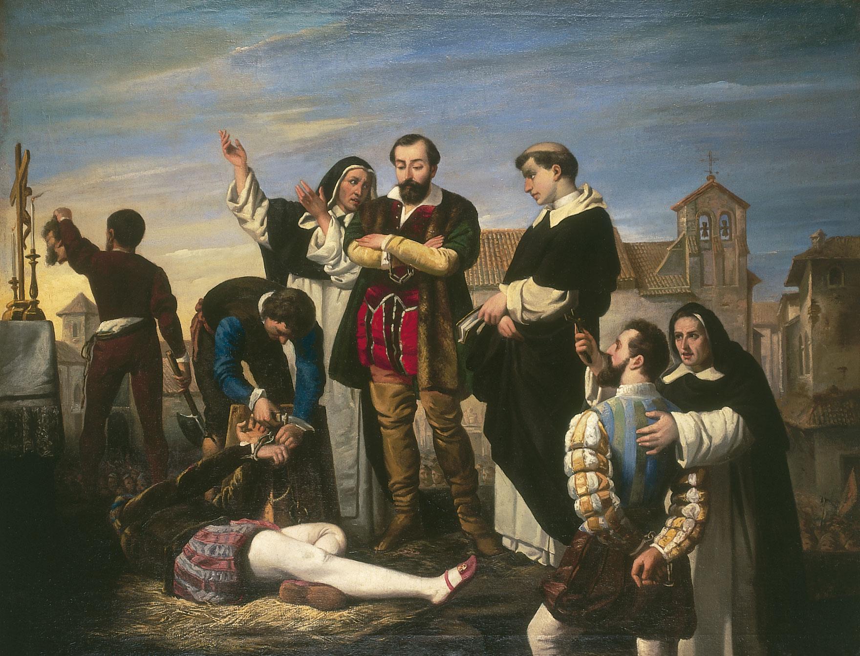 Antonio Gisbert: Los comuneros de Castilla, ca. 1867.