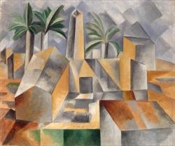 Pablo Picasso (1881-1973): Fábrica de Horta d'Ebre (1909). San Petersburgo, Museo del Ermitage