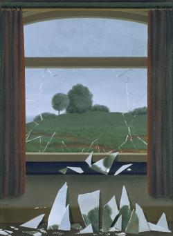 René Magritte (1898-1967): La llave del campo (1936). Colección Thyssen Bornemisza