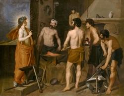 Diego Velázquez (1599-1660): La Fragua de Vulcano (1630). Madrid, Museo del Prado