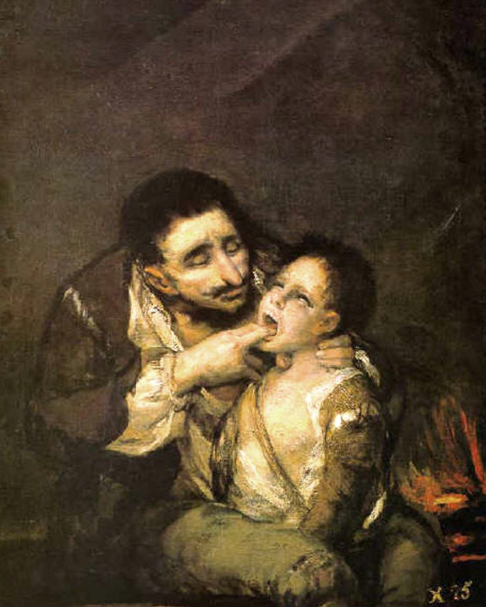 Francisco de Goya (1746-1828): El Lazarillo de Tormes (1808-10). Colección particular.