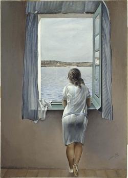 Salvador Dalí (1904-1989): Muchacha en la ventana (1925). Madrid, Museo Nacional Centro de Arte Reina Sofía.