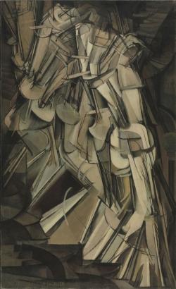 Marcel Duchamp (1887-1968): Desnudo bajando la escalera (1912). Filadelfia, Philadelphia Museum of Art