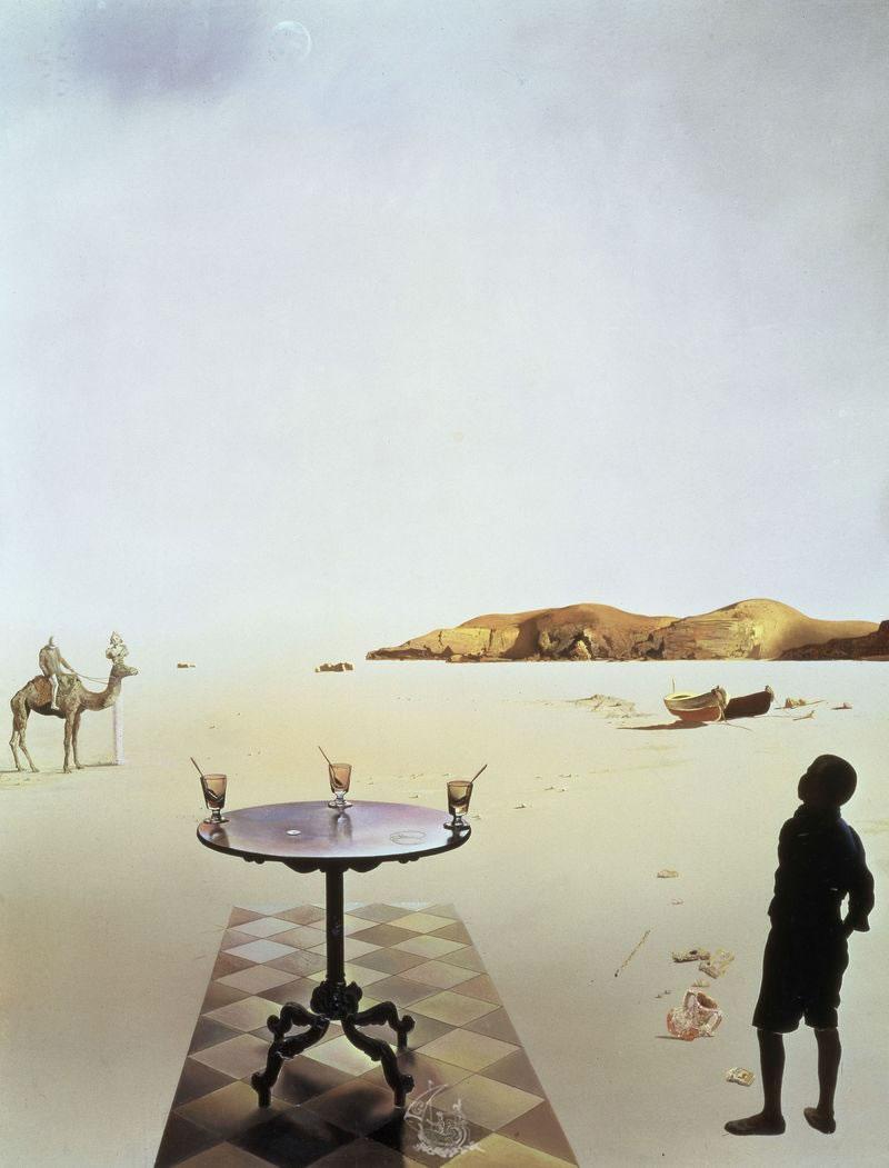 Salvador Dalí: Sun-table (Mesa solar). 1935. Museum Boijmans van Beuningen, Rotterdam