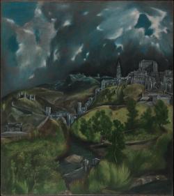 El Greco: Vista de Toledo (1597)