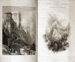 Thomas Roscoe: «The tourist in Spain». Londres: Robert Jennings and Co., 1835-1837. 20 x13 cm. Patrimonio Nacional. Madrid, Real Biblioteca (XVII/9567)