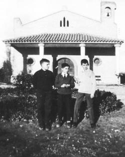 Ermita de la Virgen. Jesús Pueyo, José Mateo, Jesús Melendez. Años 60