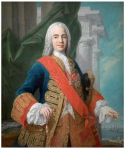 Jacopo Amigoni. Retrato del marqués de la Ensenada