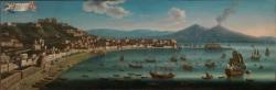 Juan Ruiz. Vista de Chiaia (Nápoles)