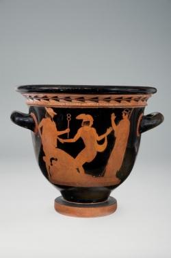 Pintor de Villa Giulia. Crátera. 460-450 a.C. Cerámica. Museo Arqueológico Nacional (Madrid).
