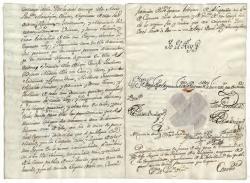 Decreto de expulsión de la Compañía de Jesús de los territorios de la Monarquía Hispánica. 1767. Archivo Histórico Nacional (Madrid).