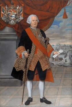 Pedro José Díaz. Manuel de Amat y Yunyent, virrey del Perú. 1773. Óleo sobre lienzo. Museo Nacional de Arte de Cataluña (Barcelona).