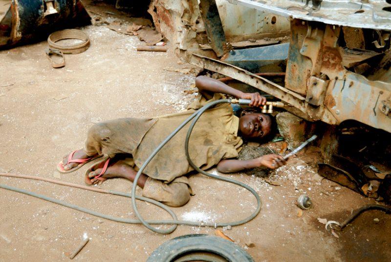 Esclavos del siglo XXI. Fotografía: Jodi Cobb