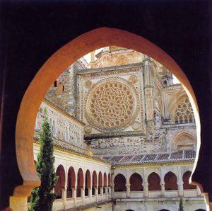 Rosetón. Real Monasterio de Nuestra Señora de Gaudalupe