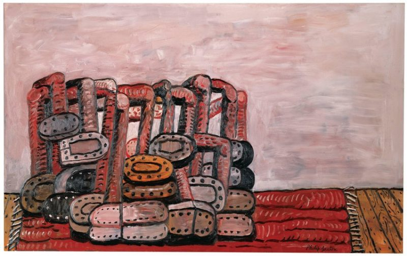 Philip Guston, Rug III, 1976