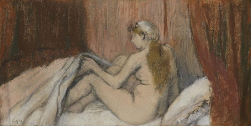 Bed-Time c.1880-5 by Edgar Degas 1834-1917