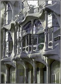 Antonio Gaudí: Casa Batlló. 1905-1907. Barcelona