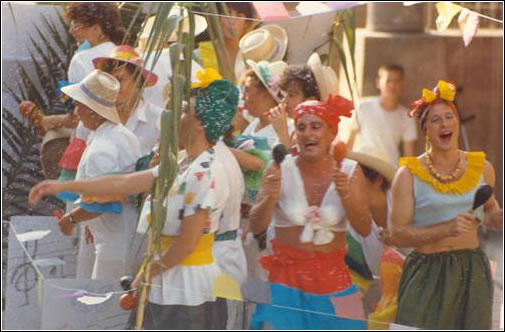 Fiestas Puebla de Alfindén