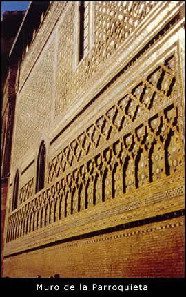 Muro mudejar de la Catedral Gótica-Mudejar de La Seo