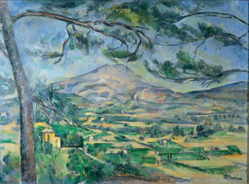 Paul Cézanne, Montagne Sainte-Victoire, c. 1887