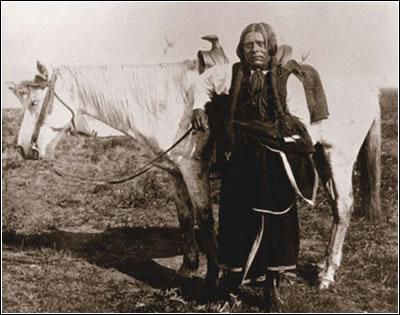 Guerrero Caddo (Fotografía de James Mooney)