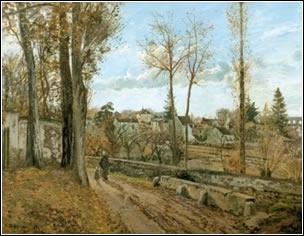 Camille Pissarro: Louveciennes (1871)