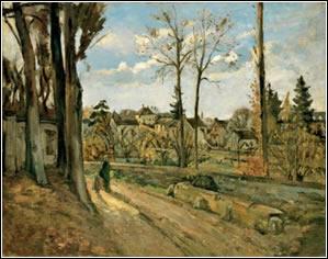 Paul Cézanne: Louveciennes (Hacia 1872)