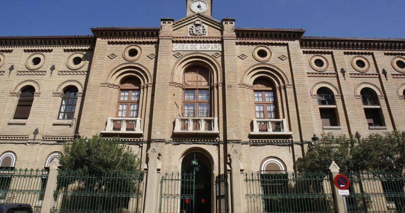 Edificio de la Casa de Amparo en el barrio de San Pablo