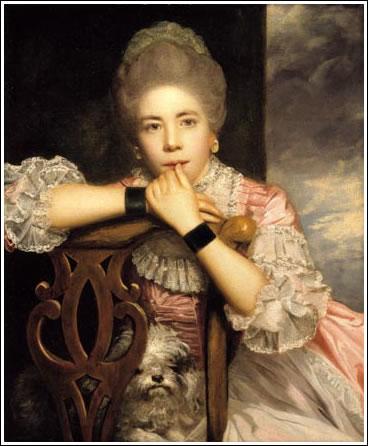 Joshua Reynolds: Mrs Abington. 1771