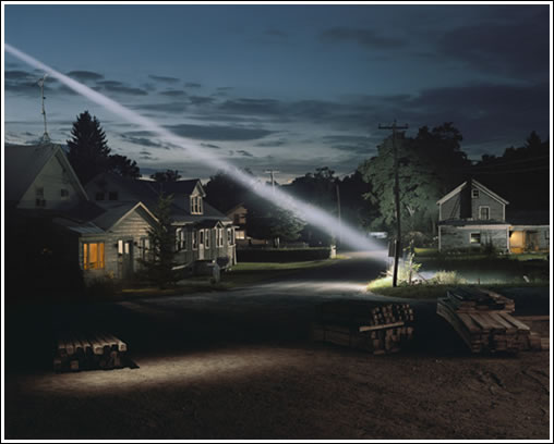 Gregory Crewdson: Untitled from the series 'Twilight'. 2001. Digital C-type print. Width 60 inches x height 48 inches. Private collection, courtesy White Cube