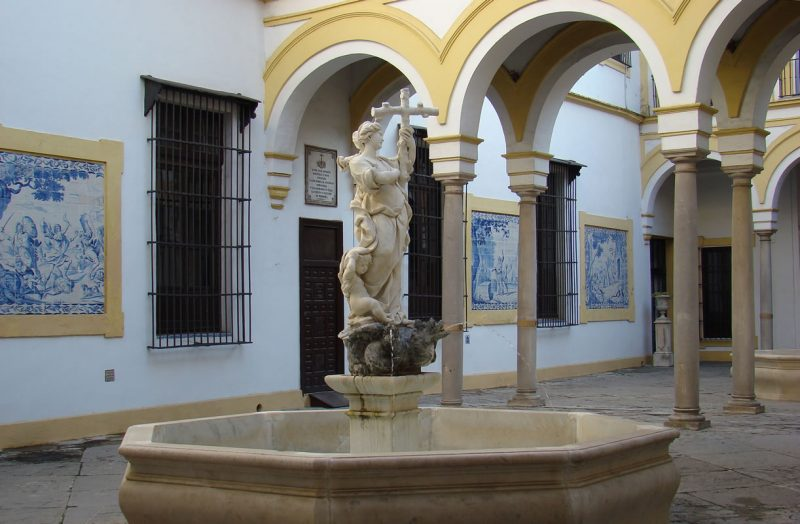 Patio del Hospital de la Caridad, Sevilla