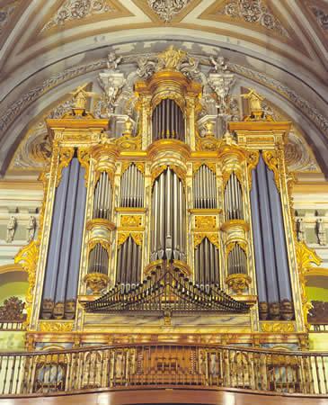 Órgano de San Jual el Real (Calatayud)