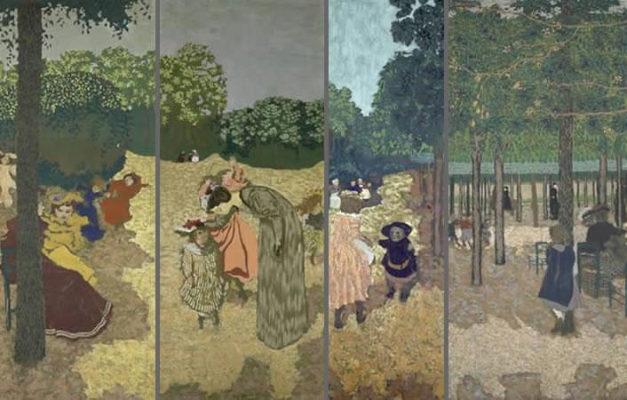 Édouard Vuillard: The Public Gardens