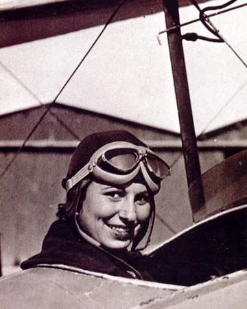 Pioneras de la aviación: Dolors Vives