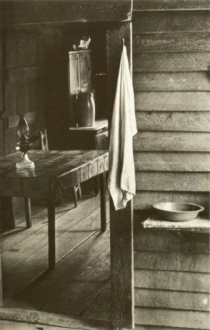 Walker Evans: Kitchen in the Borroughs House, Hale County. Alabama