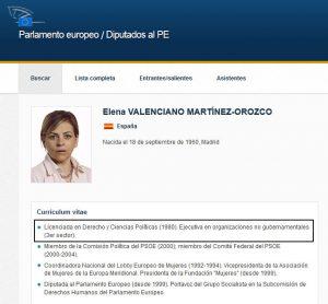 Elena Valenciano. La mentira como bandera
