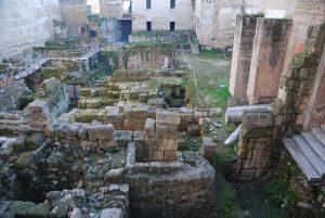 Alcázar de los Reyes Cristianos. Restos arqueológicos