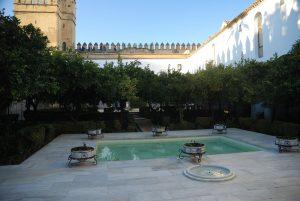 Alcázar de los Reyes Cristianos. Alberca