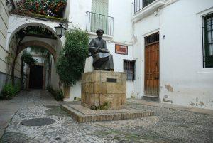 Córdoba. Maimónides (plaza de Tiberiades)