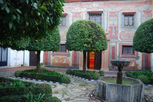 Córdoba. Patio Museo Julio Romero